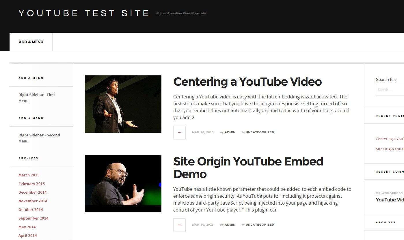 YouTube Video Thumbnails as Featured Images in WordPress